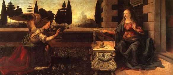 800px-Da_Vinci_The_Annunciation