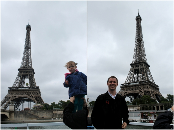 Eiffle Tower from boat